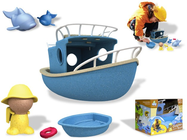 Sprig Toys Dolphin Explorer Boat