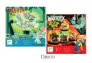 Djeco Crazix & Woodix Puzzles