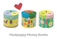 Mudpuppy Money Banks