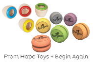Hape Toys Eye Spies & Begin Again Eco YoYos