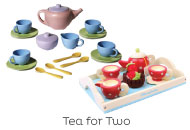 Tea Sets from Green Toys & Le Toy Van