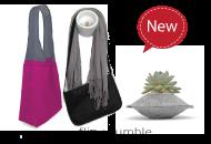 flip & tumble Reusable Bags, Hook Nooks and Felt Pods
