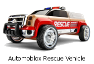 Automoblox Rescue Vehicle