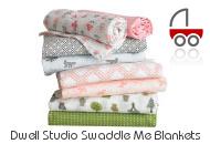 Dwell Studio Swaddle Blankets