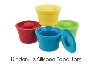 Kinderville Silicone Food Jars