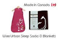 Wee Urban Sleep Sacks and Blankets