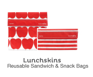 Lunchskins Reusable Sandwich And Snack Bags