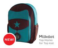 Milkdot Top Kat Superstar Backpacks