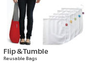 Flip & Tumble Reusable Bags