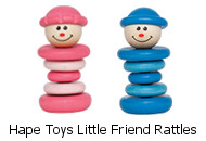 Hape Toys Little Friend Rattles