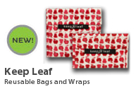 Keep Leaf Reusable Bags and Wraps
