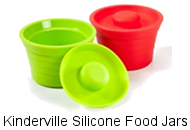 Kinderville Silicone Food Jars