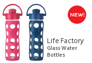 Life Factory Glass Water Bottles
