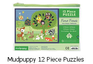 Mudpuppy 12 Piece Puzzle Forest Friends