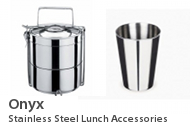 Onyx Stainless Steel Lunch Accessories