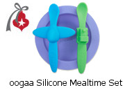 oogaa Silicone Mealtime Set