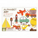 Petit Collage Alphabet Art Cards