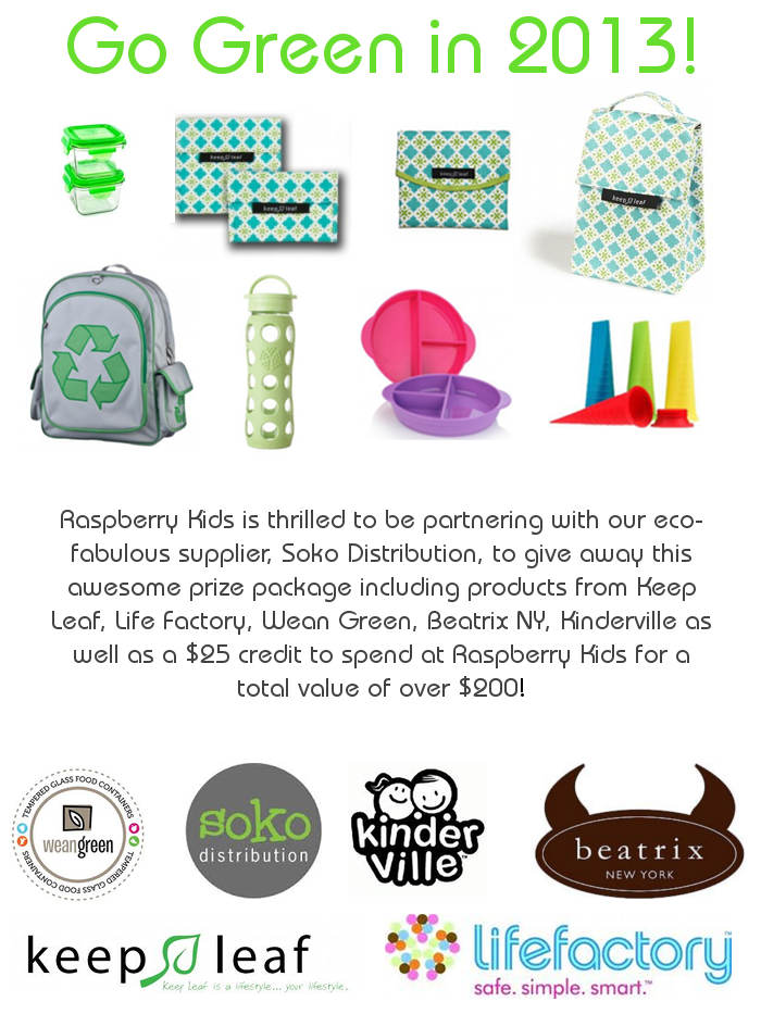 Win An Awesome Eco-Friendly Prize Package Valued At Over $200!
